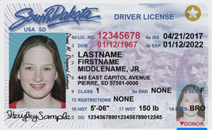 The administration has made agreements to accumulate driver's license and state identification card information from states including IA, NE, SC and SD.